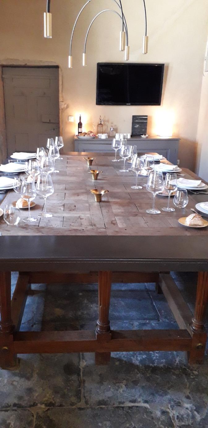 Repas d'affaires au Château de La Gallée